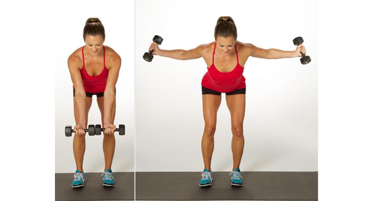 ćwiczenie na piersi