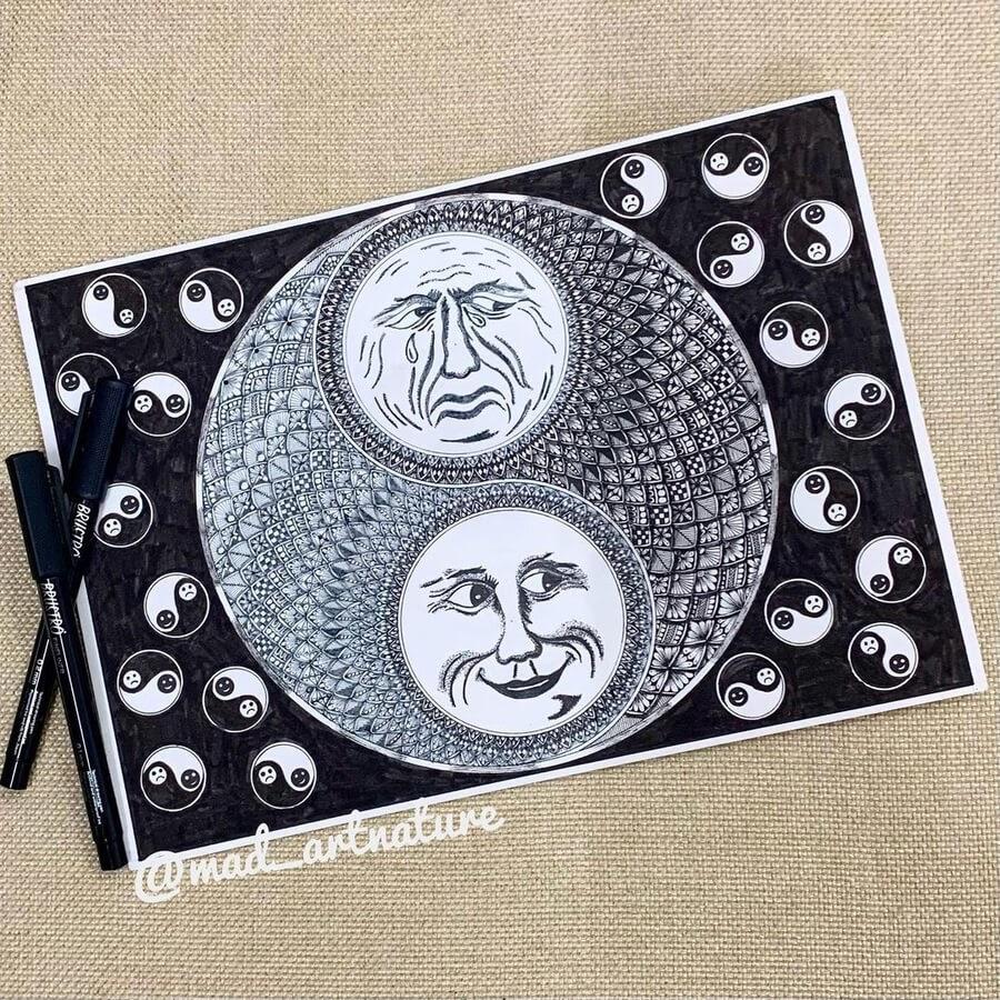 03-Happy-and-sad-moon-Madhvi-www-designstack-co
