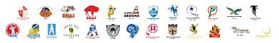 NFL Legacy team logos