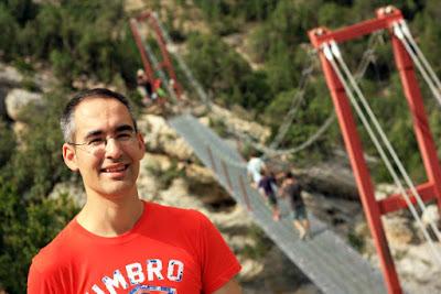 Puente Colgante sobre el Noguera Pallaresa
