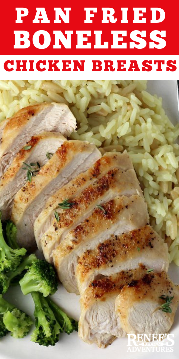 Pan Fried Chicken Breast recipe