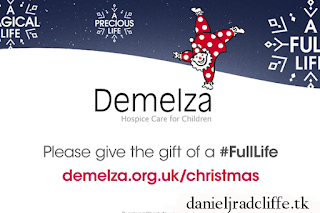 Updated: Daniel narrates 2018 Demelza #FullLife Christmas appeal video
