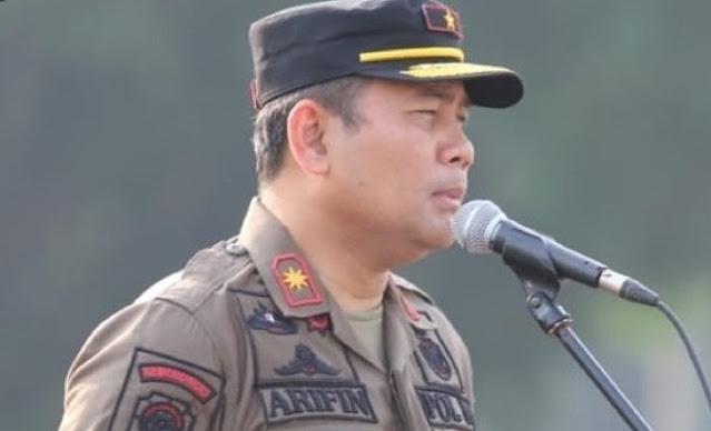 Bantah Dudung, Satpol PP DKI Sebut Tidak Dihalangi FPI saat Turunkan Baliho HRS