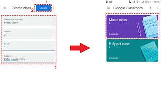 cara mengirim tugas di google classroom