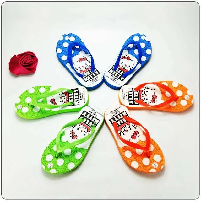 Sandal Spon AB Love- Hellokitty Baby