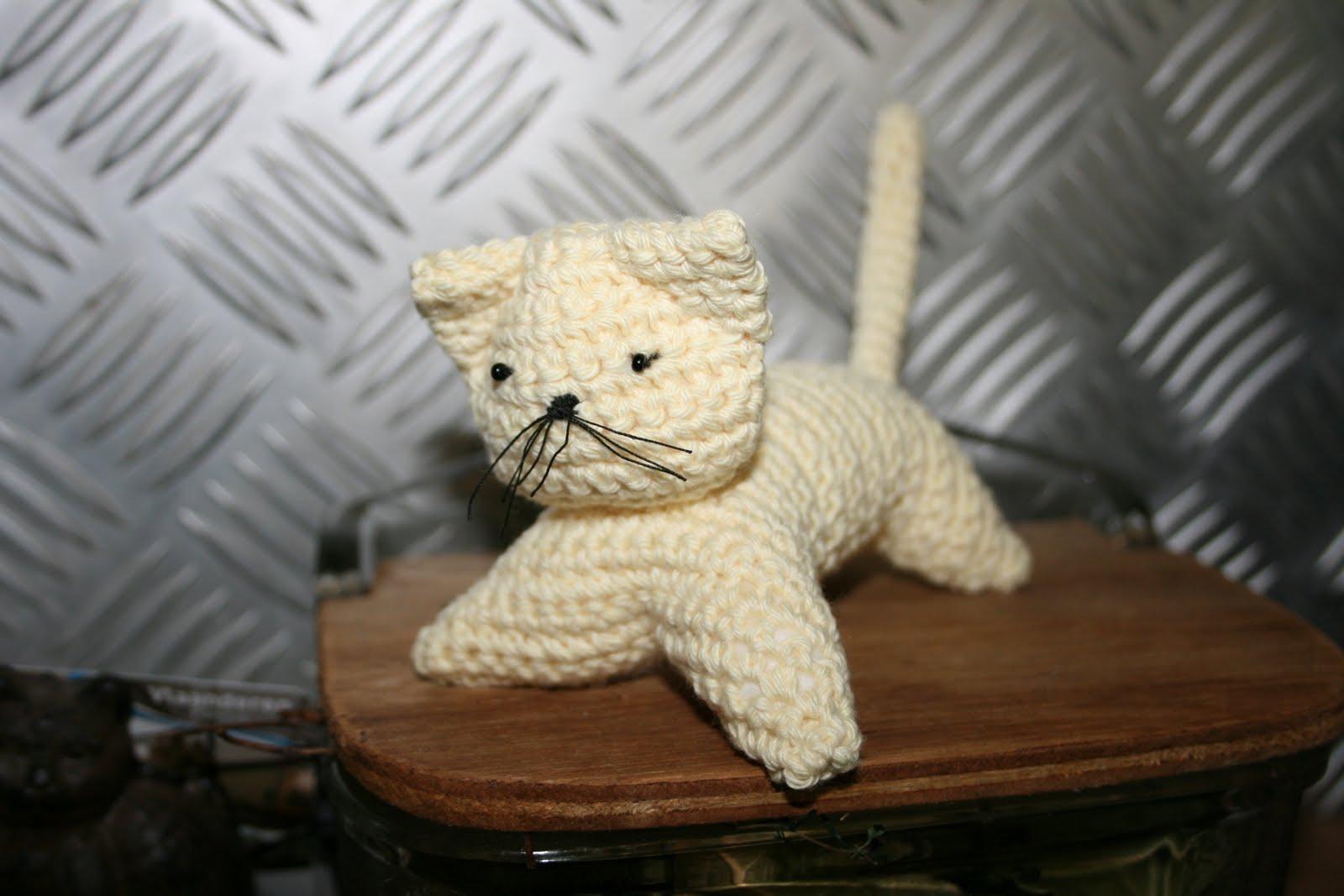 Breien En Haken In Oostende Crochet Cat Free Tutorial