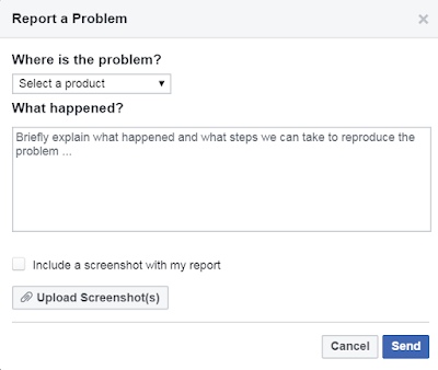 How to report a problem with Facebook | Step by step