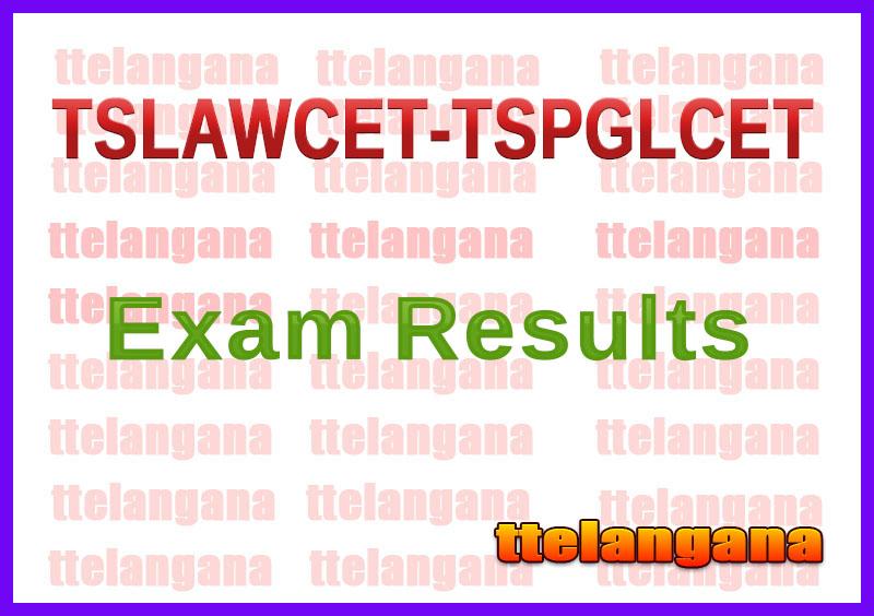 TSLAWCET-TSPGLCET 2020 Results