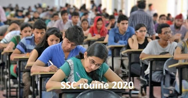 SSC Routine 2020- এসএসসি রোটিন ২০২০.