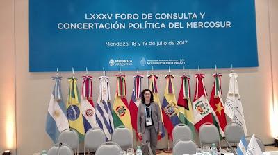 Intérprete de portugués, Gabriela Cetlinas, traductora de portugués
