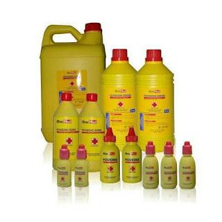 X-Logers.net Onemed Povidone Iodine Ecodine 60 ml Obat Merah Antiseptik 60ml