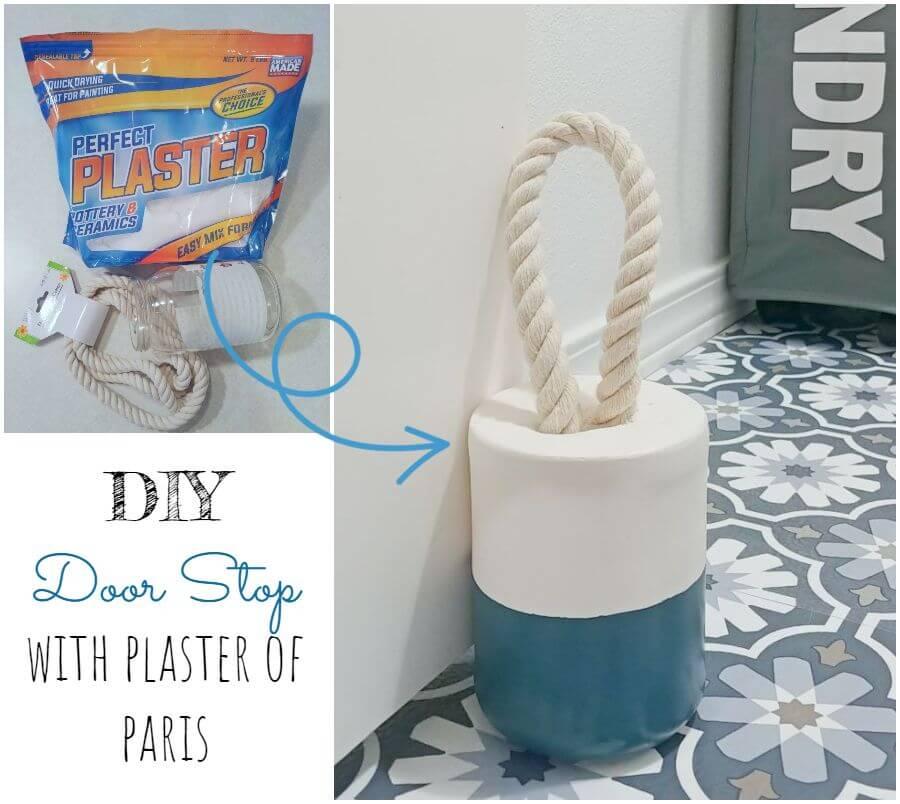 DIY Doorstop With Plaster of Paris