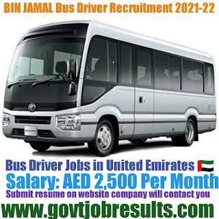 Bin Jamal Group Bus Driver Recruitment 2021-22