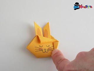 fase 7 - creare viso coniglio
