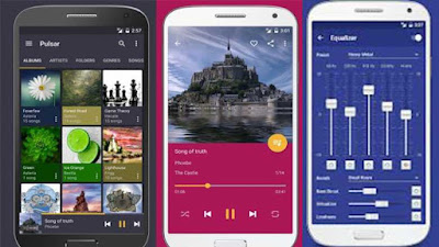 Pulsar Music Player Pro APK Download Latest Version 1.9.1 offered by Rhythm Software - For Android on www.DcFIle.com