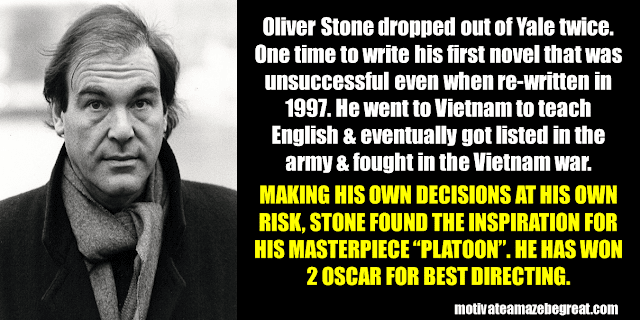 Success Stories From Famous People Who Failed Before Succeeding: Oliver Stone
