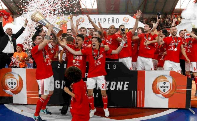 Blogs Benfica Campeão Nacional de Futsal 2018/19