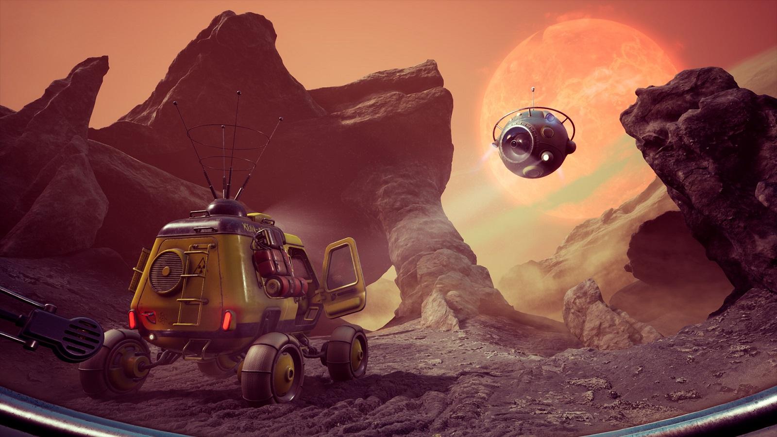 Бывшие сотрудники CD Projekt RED и Techland анонсировали приключение The Invincible по роману Станислава Лема - 06