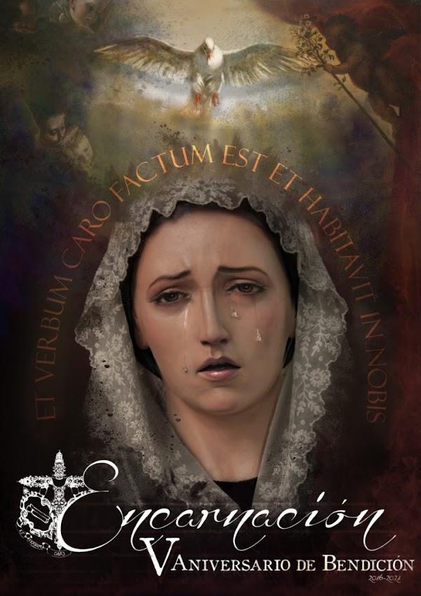 Actos y cultos extraordinarios para conmemorar el V aniversario de la Virgen de la Encarnación de Jaén
