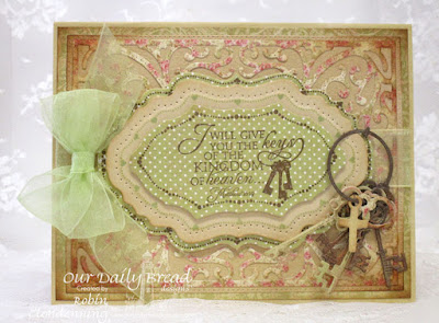 Our Daily Bread Designs, Flourish Labels Borders, Keys, Vintage Flourish Pattern, Vintage Labels, Flourished Star Pattern, Blushing Rose Collection, By Robin Clendenning