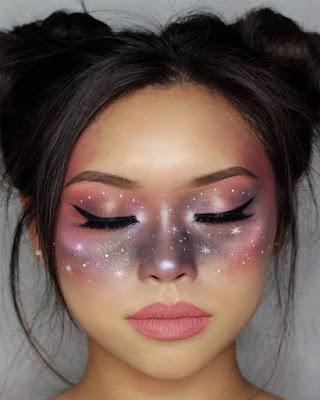 galactic halloween makeup