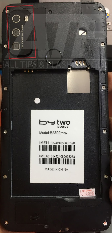 Bytwo BS500 Max Flash File   MT6580   Logo-LCD-Dead-Fix
