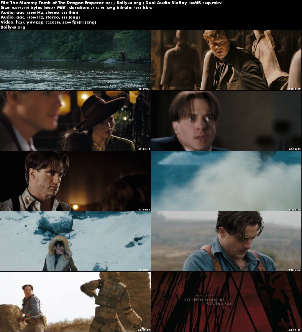 the mummy tomb of the dragon emperor 720p download