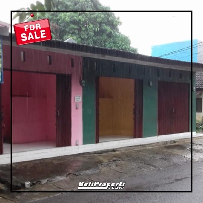 Rumah dan 3 Toko ! Ruko Dijual di Griya Kencana Tanah Sareal Bogor