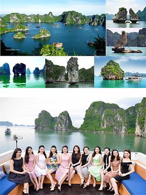 Tour du lịch Hạ Long - Du thuyền 5 sao.