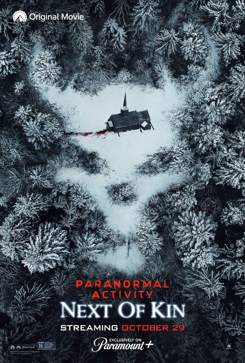 Paramount+ показал полный трейлер фильма ужасов «Паранормальное явление 7: Ближайший родственник» - Постер