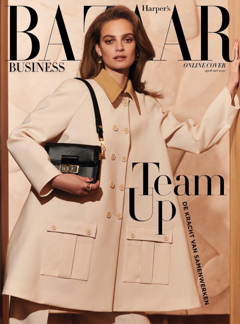 Ine Neefs Covers Harper's Bazaar Netherlands