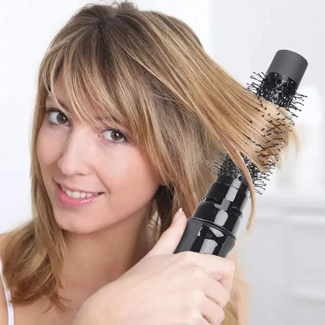 Is Hot Air Brush Bad For Hair