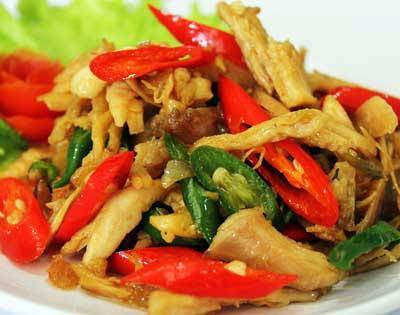 Resep Olahan Ayam - Tumis Ayam Suwir