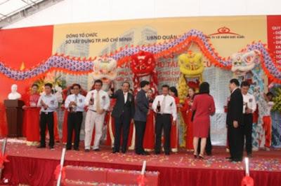 Cho thuê múa lân sư rồng tại Thuận An Bình Dương