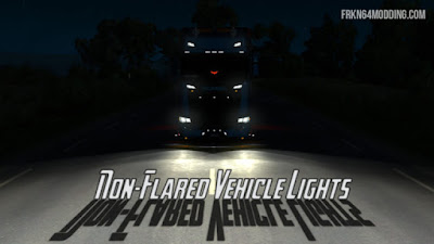 Non-Flared Vehicle Lights Mod v3.0 (by Frkn64)