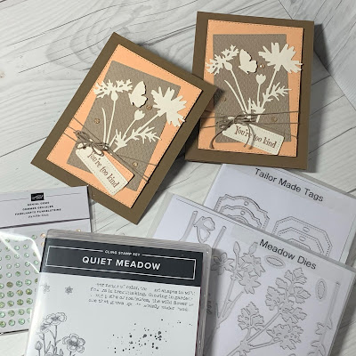 Dies and Stamp Set used to creat Stamp set