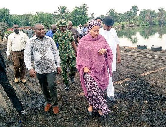 Minister of Environment visits Ogoniland ahead of environmental cleanup (photos)