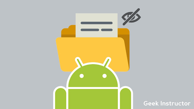 Hide folders on Android