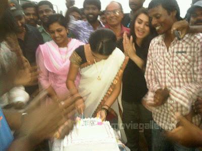 Saranya Mohan Birthday Celebrations