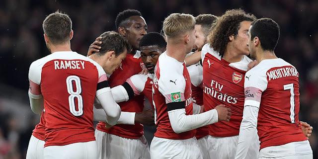 Arsenal Haram Hukumnya Kalah dari Liverpool