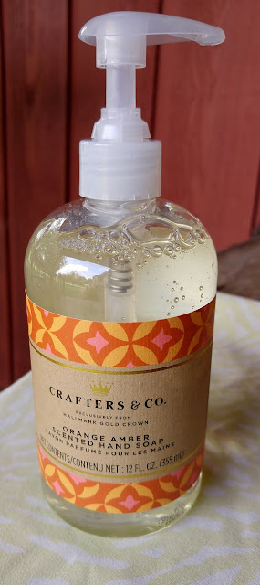 Orange and Amber scented hand soap #friendship #gifts