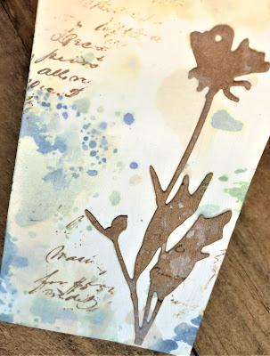 Sara Emily Barker http://sarascloset1.blogspot.com/ Field Notes Mini Album 3D Texture Fade Lumber 15