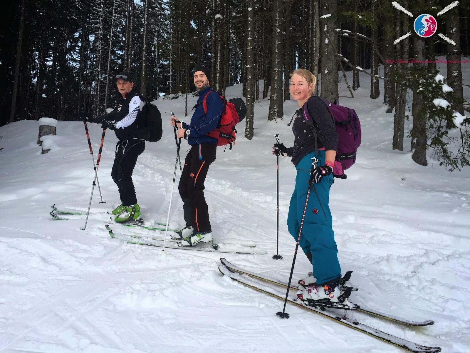 Skitour nach Feierabend