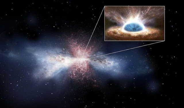Fast and furious: detection of powerful winds driven by a supermassive black hole