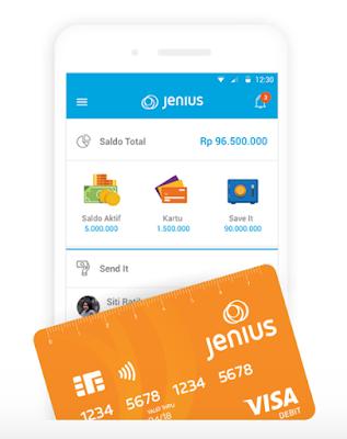 Mengenal Jenius, Si Aplikasi Pintar Perbankan Zaman Now