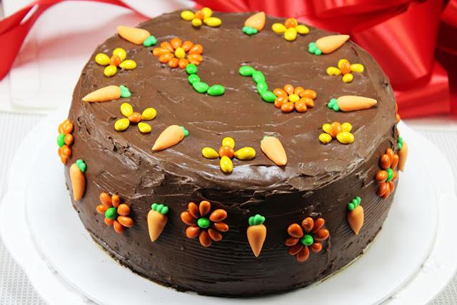 Carrot cake de chocolate