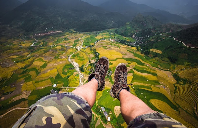 September: Mu Cang Chai has paragliding festival, Sa Pa organize marathon cross the mountain