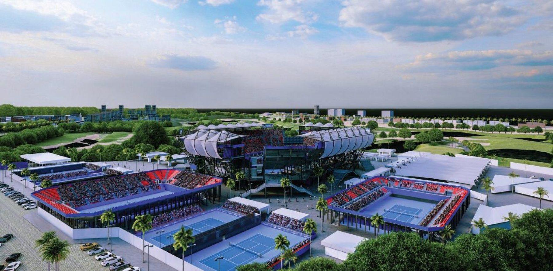 Estadio para Abierto Mexicano de Tenis