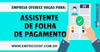 Assistente de Folha de Pagamento