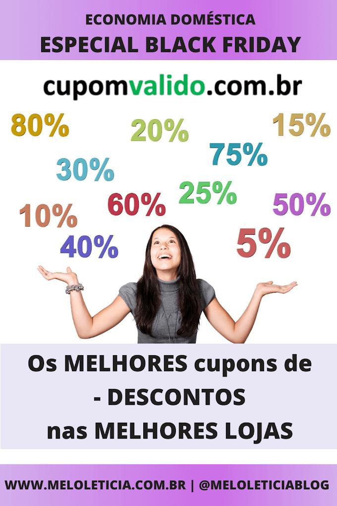 [BLACK FRIDAY] Cupomvalido.com.br : Como encontrar os melhores cupons de desconto da internet